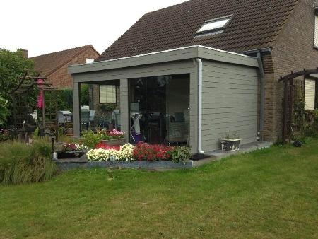extensions de maison moderne en bois